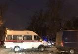 Из-за массового ДТП со «скорой» в Воронеже парализованы несколько улиц и мост