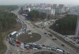 В Воронеже закроют кольцевое движение у развязки на улице 9 Января