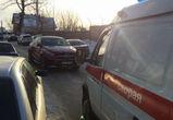 Воронежцы возмущены поведением автоледи на «Мерседесе», не пропустившей «скорую»