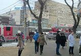 На улице Кольцовской в Воронеже едва не сгорели аптека и книжный магазин