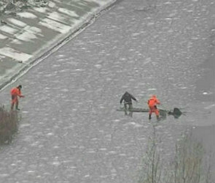 На льду водохранилища нашли полуголого обморозившегося воронежца