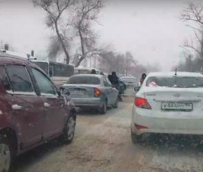 В Сети появилось видео ДТП со сбитым ребенком на Богдана Хмельницкого
