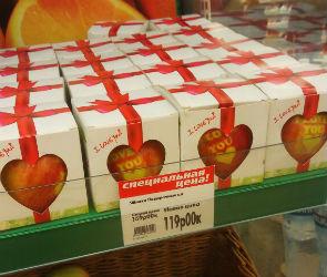 В Воронеже ко Дню всех влюбленных продают «татуированные» яблоки