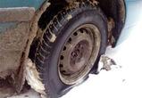 Неизвестные за ночь прокололи колеса 10 машинам в Северном микрорайоне Воронежа