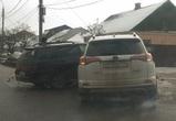 Воронежцы сообщают об огромной пробке из-за аварии на улице Грамши