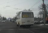 В Воронеже очередного маршрутчика наказали по видеозаписи
