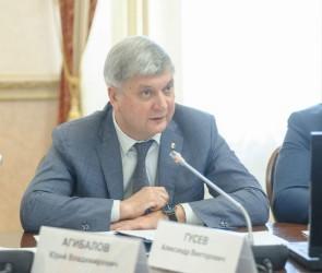 Александр Гусев поддержит выдвижение Вадима Кстенина на пост мэра Воронежа
