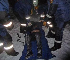 В Воронеже спасли замерзавшего в лесу 46-летнего мужчину