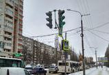 На улице Хользунова светофор «обиделся» и отвернулся от водителей