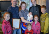 В Воронежской области супруги дали новорожденной девочке имя Россия