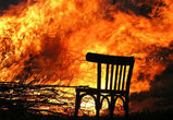 В Воронеже загорелась строящаяся церковь