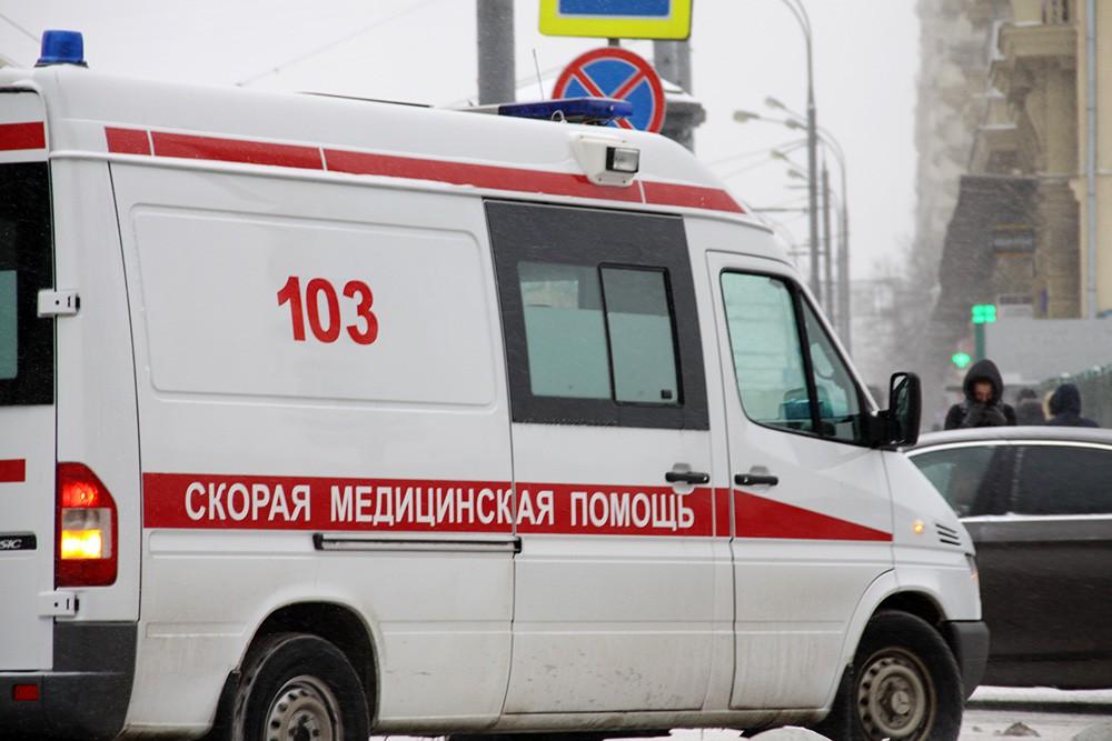 ДТП с маршруткой в Воронеже: автобус №66 врезался в иномарку, ранена женщина