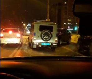 17-летний воронежец на Lexus протаранил УАЗ Росгвардии