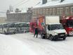 Снегопад в Вороне...