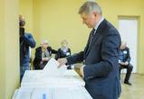 Александр Гусев принял участие в голосовании на выборах президента РФ
