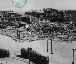 Площадь Ленина в руинах, но с действующими трамваями показали воронежцам