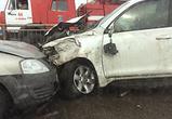 В массовом ДТП на трассе М-4 под Воронежем разбились 4 машины – фото, видео