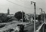 Воронежцам показали, как расширили подъезд к Чернавскому мосту в 60-е годы