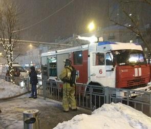 Воронежцы сообщили в МЧС о пожаре в ТЦ «Галерея Чижова»