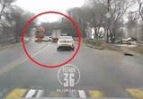 Момент смертельного ДТП на Грамши в Воронеже попал на видео