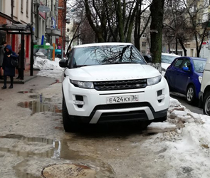 В Воронеже агрессивного автохама проучили струей газового баллончика - фото