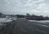 В воронежском Шилово разобрали понтонный мост