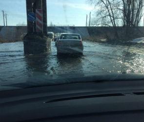 Затопленный участок трассы Р-298, проходящий через Воронеж, перекроют