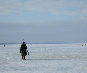 Спасатели просят не выходить на лед воронежского водохранилища
