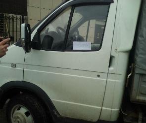 Воронежского водителя унизили обидной запиской из-за неправильной парковки