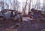 Появилось видео крупной аварии с 3 погибшими на саратовской трассе под Воронежем