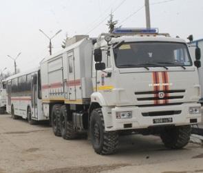 По решению Владимира Пучкова в Воронежскую область выехали спасатели из Тулы