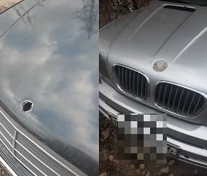 На видео в Воронеже попали подростки, ворующие значки с иномарок