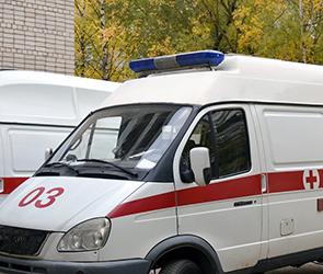 В Воронеже в аварии  с Приорой и Шевроле пострадал пешеход: мужчина в больнице