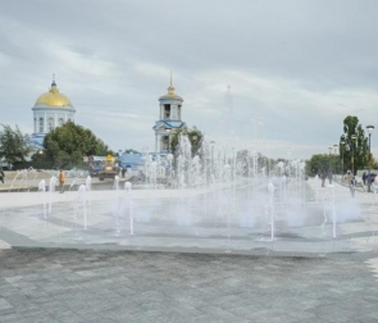 После реконструкции Советская площадь Воронежа откроется 1 июня