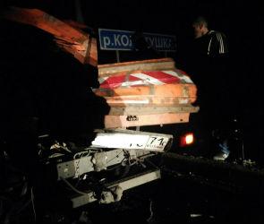 Массовая авария под Воронежем: столкнулись фуры и дорожная техника, есть раненые