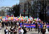 В Воронеже на демонстрацию в честь Первомая вышло около 30 тысяч человек - фото