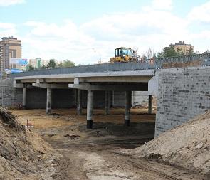 Мэр Воронежа распорядился завершить ремонт развязки на 9 Января раньше срока