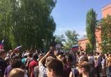 На митинге сторонников Навального в Воронеже задержали порядка 60 человек