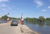 В Воронеже восстановили понтонный мост