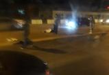 Последствия ДТП со сбитой девушкой на путепроводе в Воронеже попали на видео