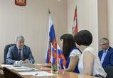 Александр Гусев ответил на вопросы жителей Рамонского района