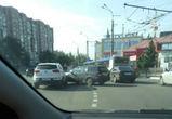 Из-за аварии на памятнике Славы парализован Московский проспект