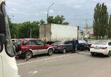 На Ленинском проспекте пьяный водитель ВАЗа спровоцировал массовое ДТП