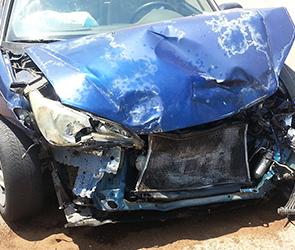 В Воронеже на 9 Января на ремонтируемой развязке у «Крестов» произошла авария
