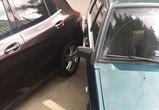 В Воронеже сфотографировали парковку «ювелира»