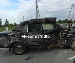 Два человека пострадали в ДТП под Воронежем