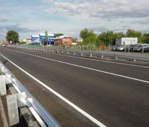 В Воронежской области открыли движение по мосту через суходол на трассе «Каспий»