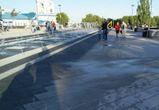 «Сухие» фонтаны на Советской площади оказались мокрыми