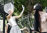 Театрализованное шествие Платоновфеста сравнили с гей-парадом (фото-видео)