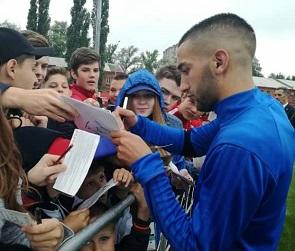 Сборная Марокко поделилась фотографиями с открытой тренировки в Воронеже